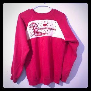 Vintage Washington State Knit/Sweatshirt ☔️